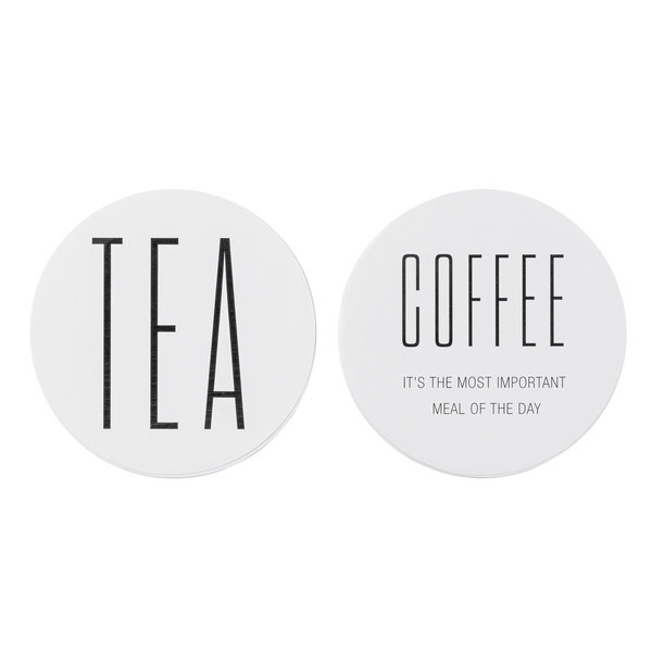 "Wandsticker ""TEA&COFFEE"" - Bloomingville"